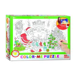 The Night Before Christmas Christmas Coloring Puzzle