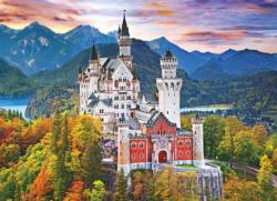 Neuschwanstein Castle Sunrise / Sunset Jigsaw Puzzle