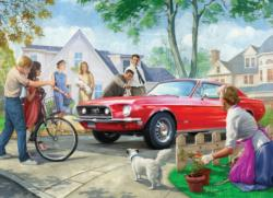 The Red Pony Nostalgic / Retro Jigsaw Puzzle