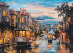 San Francisco Cable Car Heaven Cities Jigsaw Puzzle