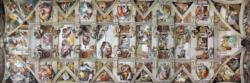 The Sistine Chapel Ceiling Monuments / Landmarks Panoramic Puzzle