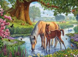 The Fell Ponies Lakes / Rivers / Streams Jigsaw Puzzle