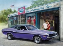 Plum Crazy Challenger Vehicles Jigsaw Puzzle