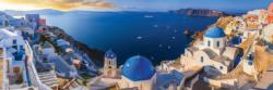 Santorini Greece Seascape / Coastal Living Jigsaw Puzzle