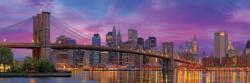 Brooklyn Bridge, New York Skyline / Cityscape Panoramic Puzzle