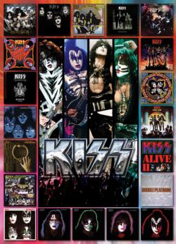 KISS The Albums Music Jigsaw Puzzle