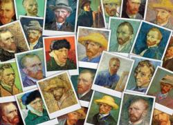 Van Gogh's Selfies Collage Jigsaw Puzzle