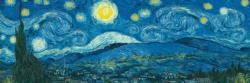 Starry Night Panorama (Expanded from original) Van Gogh Starry Night Jigsaw Puzzle