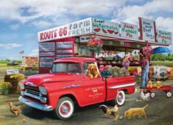 The Apache Truck Nostalgic / Retro Jigsaw Puzzle