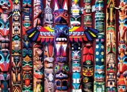Totem Poles Pattern / Assortment Impossible Puzzle