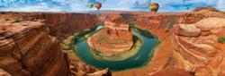 Horseshoe Bend, Arizona Nature Panoramic Puzzle