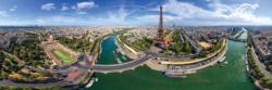 Paris France Paris Panoramic Puzzle