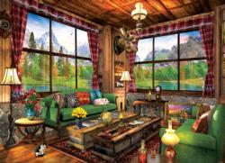 Cozy Cabin Cottage / Cabin Jigsaw Puzzle
