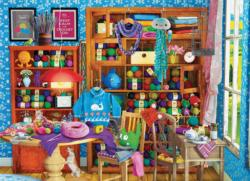 All you Knit is Love Crafts & Textile Arts Jigsaw Puzzle
