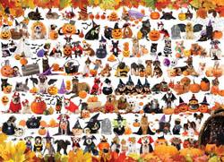 Halloween Pets Halloween Jigsaw Puzzle
