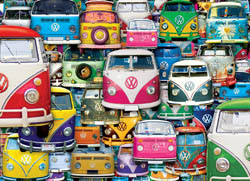 Funky Jam Cars Jigsaw Puzzle