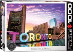 Toronto, Canada Skyline / Cityscape Jigsaw Puzzle