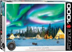 Northern Lights Landscape Jigsaw Puzzle