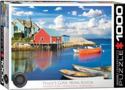 Peggy's Cove Nova Scotia Seascape / Coastal Living Jigsaw Puzzle