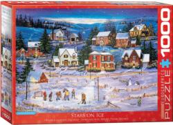Stars on the Ice - Scratch and Dent Sports Jigsaw Puzzle