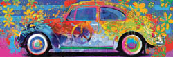 Beetle Splash Panormaic Vehicles Jigsaw Puzzle