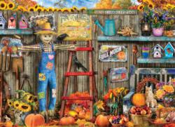 Harvest Time Flowers Jigsaw Puzzle