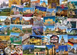 Globetrotter Germany Collage Impossible Puzzle