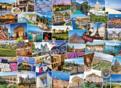 Globetrotter France Collage Impossible Puzzle