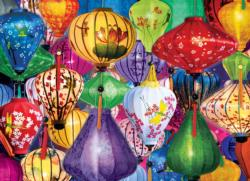 Asian Lanterns Asian Art Jigsaw Puzzle