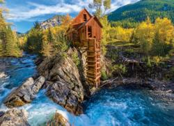 Crystal Mill Lakes / Rivers / Streams Jigsaw Puzzle
