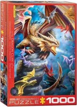 Dragon Clan Dragons Jigsaw Puzzle