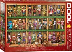 Nutcracker Soldiers Pattern / Assortment Jigsaw Puzzle