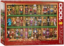 Nutcracker Soldiers Pattern / Assortment Jigsaw Puzzle