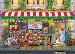 Plush Petals Florist Flowers Jigsaw Puzzle