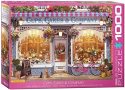 Cups, Cakes & Company Shopping Jigsaw Puzzle