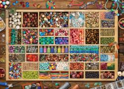 Laura's Bead Collection Everyday Objects Jigsaw Puzzle