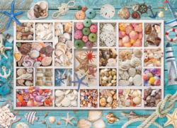 Laura's Seashell Collection Collage Impossible Puzzle