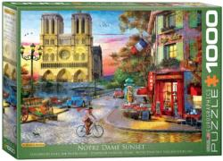 Notre Dame - Scratch and Dent Sunrise / Sunset Jigsaw Puzzle