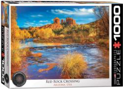 Red Rock Crossing National Parks Jigsaw Puzzle