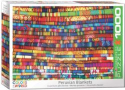 Peruvian Blankets Cultural Art Jigsaw Puzzle