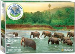 Save the Planet! Animal Kingdom Elephants Jigsaw Puzzle