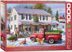 Christmas Antique Store Christmas Jigsaw Puzzle