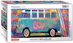 Love Splash Cars Panoramic Puzzle