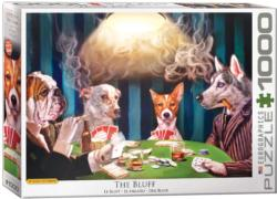 The Bluff Dogs Jigsaw Puzzle