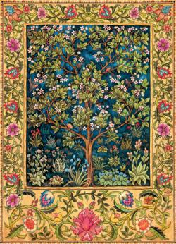 Tree of Life Tapestry Fine Art Jigsaw Puzzle