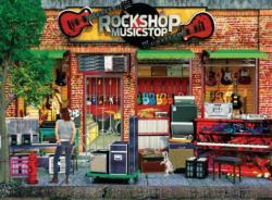 Rock Shop Music Jigsaw Puzzle