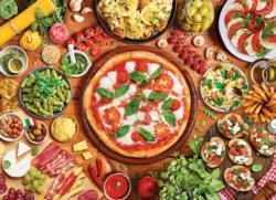Italian Table Italy Jigsaw Puzzle