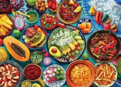 Mexican Table Food and Drink Jigsaw Puzzle