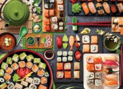 Sushi Table Food and Drink Jigsaw Puzzle