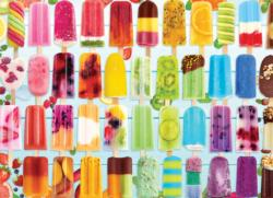 Popsicle Rainbow Sweets Jigsaw Puzzle